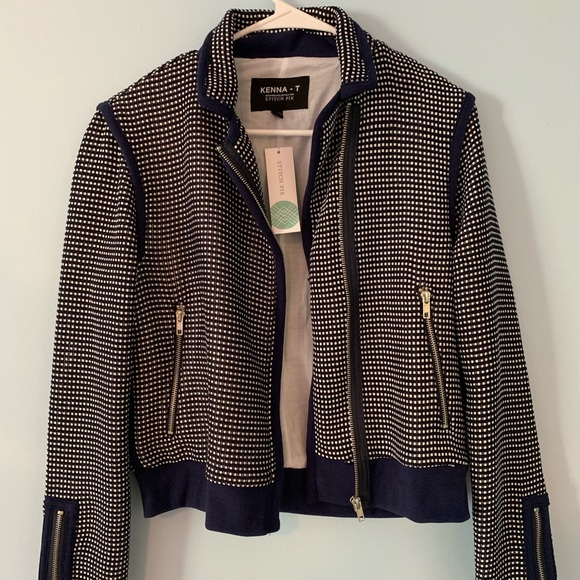 Zara Moro Jacket Baby blue Zara Moro jacket. Sturdy cloth
